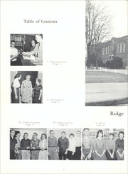Page 6, 1962 Edition, Ridgeville High School - Shadow Yearbook (Ridgeville Corners, OH) online yearbook collection