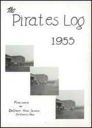 Page 5, 1955 Edition, De Graff High School - Pirates Log Yearbook (DeGraff, OH) online yearbook collection