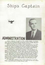 Page 7, 1957 Edition, De Graff High School - Pirates Log Yearbook (DeGraff, OH) online yearbook collection