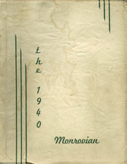 Monroe High School - Monrovian Yearbook (West Manchester, OH) online yearbook collection, 1940 Edition, Page 1