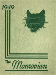Monroe High School - Monrovian Yearbook (West Manchester, OH) online yearbook collection, 1949 Edition, Page 1