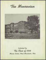 Page 5, 1949 Edition, Monroe High School - Monrovian Yearbook (West Manchester, OH) online yearbook collection