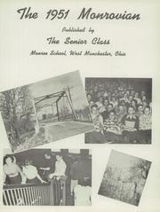 Page 7, 1951 Edition, Monroe High School - Monrovian Yearbook (West Manchester, OH) online yearbook collection