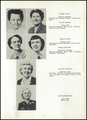 Page 11, 1954 Edition, Lyons High School - Roar Yearbook (Lyons, OH) online yearbook collection