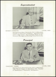 Page 9, 1954 Edition, Lyons High School - Roar Yearbook (Lyons, OH) online yearbook collection