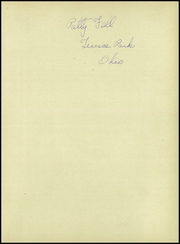 Page 3, 1945 Edition, Terrace Park High School - Yearbook (Terrace Park, OH) online yearbook collection