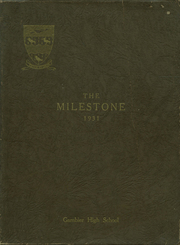 Page 1, 1931 Edition, Gambier High School - Milestone Yearbook (Gambier, OH) online yearbook collection
