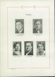 Page 14, 1931 Edition, Gambier High School - Milestone Yearbook (Gambier, OH) online yearbook collection