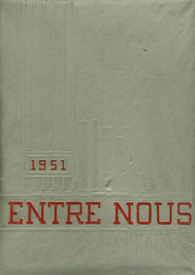 Page 1, 1951 Edition, Navarre High School - Entre Nous Yearbook (Navarre, OH) online yearbook collection