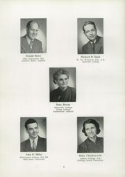 Page 10, 1952 Edition, Navarre High School - Entre Nous Yearbook (Navarre, OH) online yearbook collection