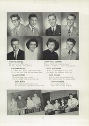 Page 17, 1952 Edition, Navarre High School - Entre Nous Yearbook (Navarre, OH) online yearbook collection