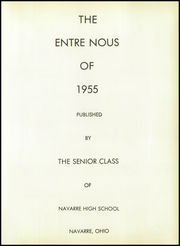 Page 5, 1955 Edition, Navarre High School - Entre Nous Yearbook (Navarre, OH) online yearbook collection