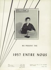 Page 5, 1957 Edition, Navarre High School - Entre Nous Yearbook (Navarre, OH) online yearbook collection