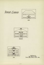 Page 3, 1950 Edition, Forest High School - Leaves Yearbook (Forest, OH) online yearbook collection