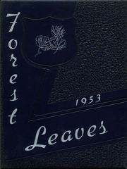 1953 Edition, Forest High School - Leaves Yearbook (Forest, OH)