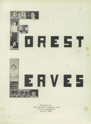 Page 5, 1953 Edition, Forest High School - Leaves Yearbook (Forest, OH) online yearbook collection