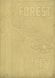 1954 Edition, Forest High School - Leaves Yearbook (Forest, OH)