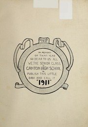 Page 7, 1911 Edition, Canton High School - Monthly Yearbook (Canton, OH) online yearbook collection