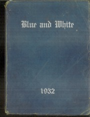Page 1, 1932 Edition, Tuscarawas Warwick High School - Blue and White Yearbook (Tuscarawas, OH) online yearbook collection