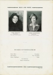 Page 11, 1932 Edition, Tuscarawas Warwick High School - Blue and White Yearbook (Tuscarawas, OH) online yearbook collection