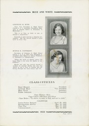 Page 17, 1932 Edition, Tuscarawas Warwick High School - Blue and White Yearbook (Tuscarawas, OH) online yearbook collection