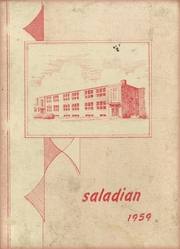 1959 Edition, Adamsville High School - Saladian Yearbook (Adamsville, NY)