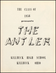 Page 5, 1956 Edition, Killbuck High School - Antler Yearbook (Killbuck, OH) online yearbook collection