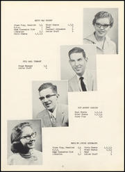 Page 13, 1958 Edition, Killbuck High School - Antler Yearbook (Killbuck, OH) online yearbook collection
