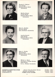 Page 10, 1957 Edition, Mount Blanchard High School - Leaves Yearbook (Mount Blanchard, OH) online yearbook collection