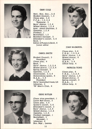 Page 14, 1957 Edition, Mount Blanchard High School - Leaves Yearbook (Mount Blanchard, OH) online yearbook collection