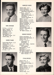 Page 15, 1957 Edition, Mount Blanchard High School - Leaves Yearbook (Mount Blanchard, OH) online yearbook collection
