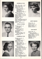 Page 16, 1957 Edition, Mount Blanchard High School - Leaves Yearbook (Mount Blanchard, OH) online yearbook collection