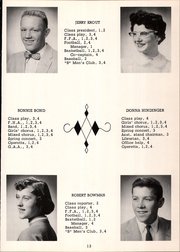 Page 17, 1957 Edition, Mount Blanchard High School - Leaves Yearbook (Mount Blanchard, OH) online yearbook collection