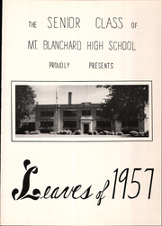 Page 5, 1957 Edition, Mount Blanchard High School - Leaves Yearbook (Mount Blanchard, OH) online yearbook collection