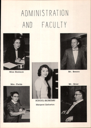 Page 7, 1957 Edition, Mount Blanchard High School - Leaves Yearbook (Mount Blanchard, OH) online yearbook collection