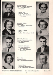 Page 9, 1957 Edition, Mount Blanchard High School - Leaves Yearbook (Mount Blanchard, OH) online yearbook collection