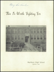 Page 3, 1944 Edition, Marlboro High School - Scenario Yearbook (Marlboro, OH) online yearbook collection