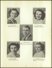 Page 13, 1950 Edition, Bloomville High School - Green and White Yearbook (Bloomville, OH) online yearbook collection