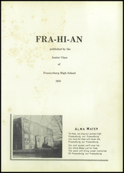 Page 5, 1958 Edition, Frazeysburg High School - Fra Hi An Yearbook (Frazeysburg, OH) online yearbook collection
