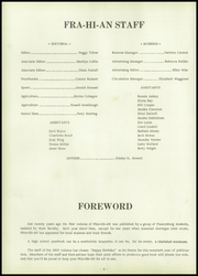 Page 8, 1958 Edition, Frazeysburg High School - Fra Hi An Yearbook (Frazeysburg, OH) online yearbook collection
