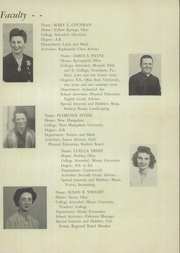 Page 15, 1945 Edition, Bryan High School - Bryannual Yearbook (Yellow Springs, OH) online yearbook collection