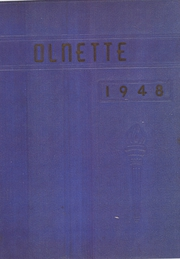 Page 1, 1948 Edition, Olney High School - Olnette Yearbook (Northwood, OH) online yearbook collection