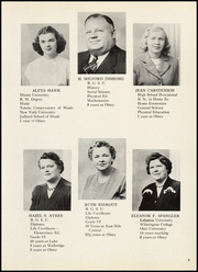 Page 11, 1948 Edition, Olney High School - Olnette Yearbook (Northwood, OH) online yearbook collection