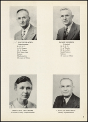 Page 9, 1948 Edition, Olney High School - Olnette Yearbook (Northwood, OH) online yearbook collection