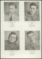 Page 11, 1954 Edition, Jeromesville High School - Cristata Yearbook (Jeromesville, OH) online yearbook collection