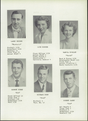 Page 15, 1954 Edition, Wakeman High School - Memoirs Yearbook (Wakeman, OH) online yearbook collection