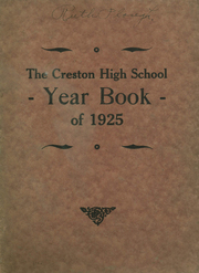 Creston High School - Annual Yearbook (Creston, OH) online yearbook collection, 1925 Edition, Page 1