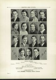 Page 10, 1936 Edition, Creston High School - Annual Yearbook (Creston, OH) online yearbook collection