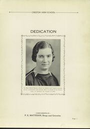 Page 7, 1936 Edition, Creston High School - Annual Yearbook (Creston, OH) online yearbook collection