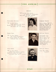 Page 13, 1941 Edition, Creston High School - Annual Yearbook (Creston, OH) online yearbook collection
